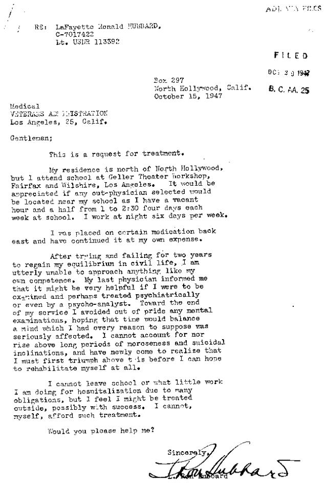 Hubbard.Letter.Psychiartic.Help