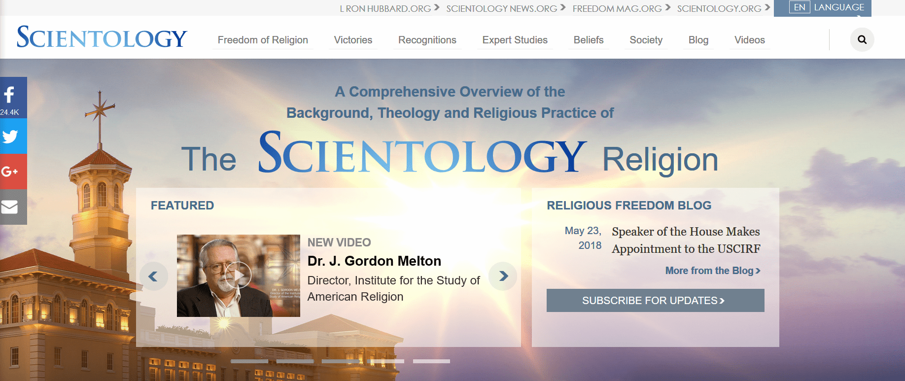 What is scientology beliefs on homosexuality in christianity