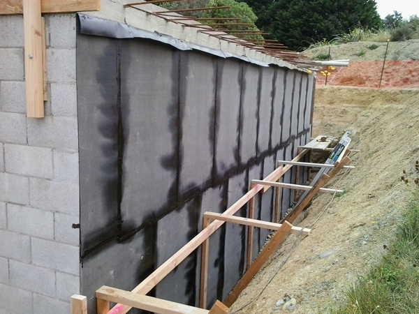 second lift completed north wall
