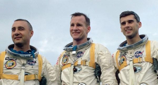Apollo 1 space mission commemoration