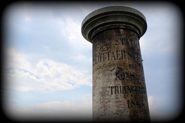 Triangulacja Królestwa Saksonii – punkt nr 57 – Cottaer Spitzberg