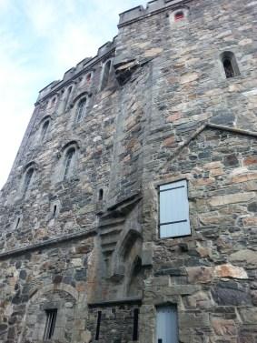 Wieża Rosenkrantz, jedna z największych atrakcji Bergenhus.