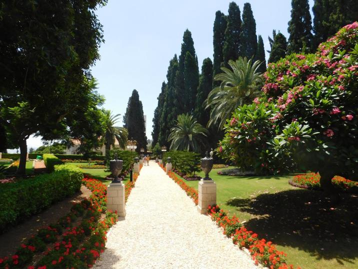 ogrody bahaitów