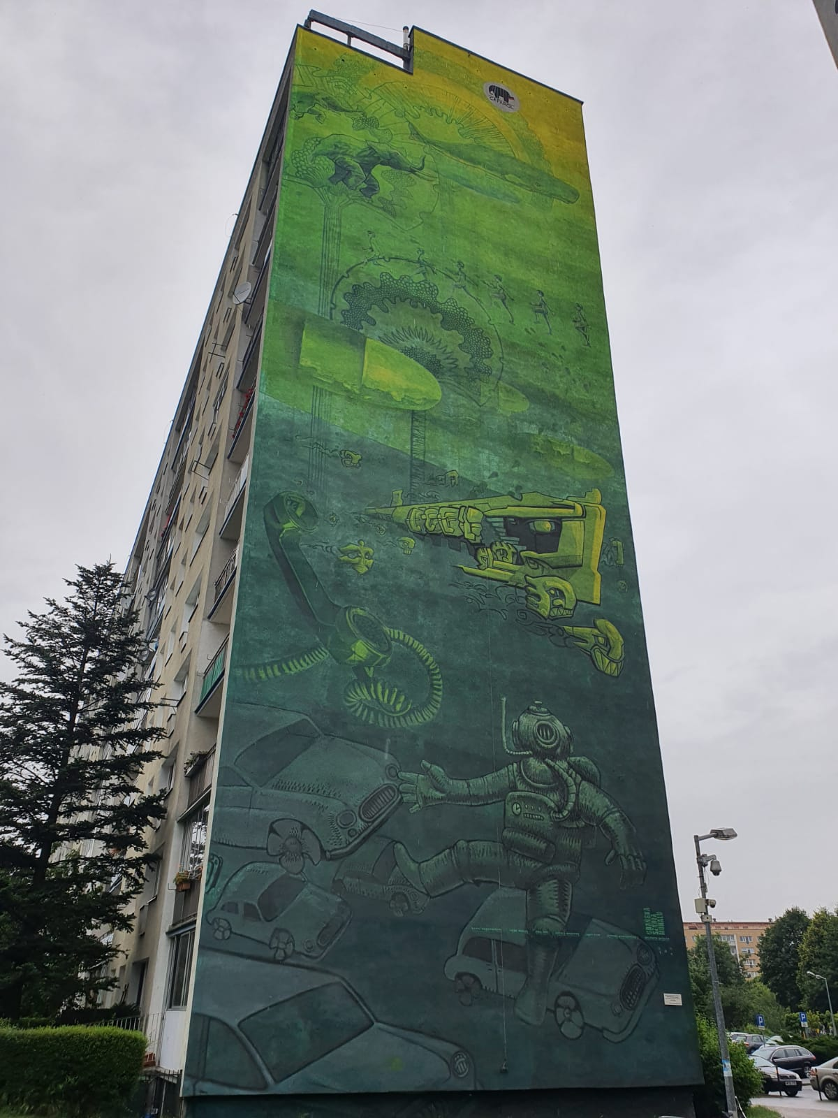 blokowisko Zaspa Gdańsk
