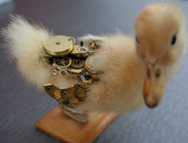 543381194753505 thumb Extreme Steampunk Beyond the Grave Terminal Techno Taxidermy