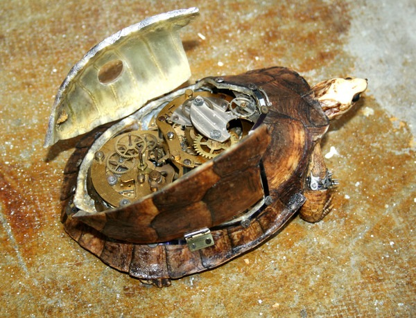 543381225342746 thumb Extreme Steampunk Beyond the Grave Terminal Techno Taxidermy