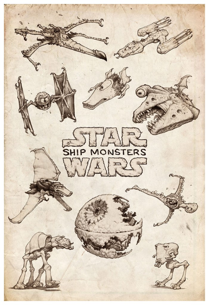 Star Wars Ship Monsters