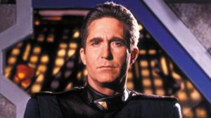 Michael O'Hare in his role as Commander Sinclair of Babylon 5
