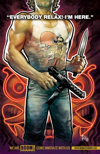 Big Trouble in Little China Teaser by Eric Powell