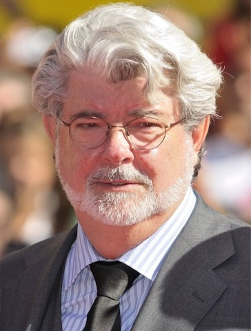 Director, producer and screenwriter George Lucas.