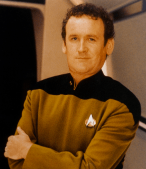 Colm Meaney as Miles O'Brien