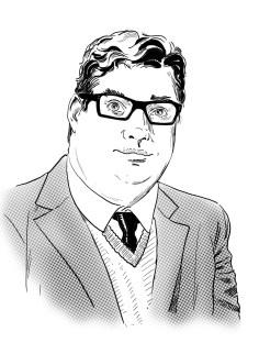 Dr. Scott Viguié (portrait by Gene Turnbow)