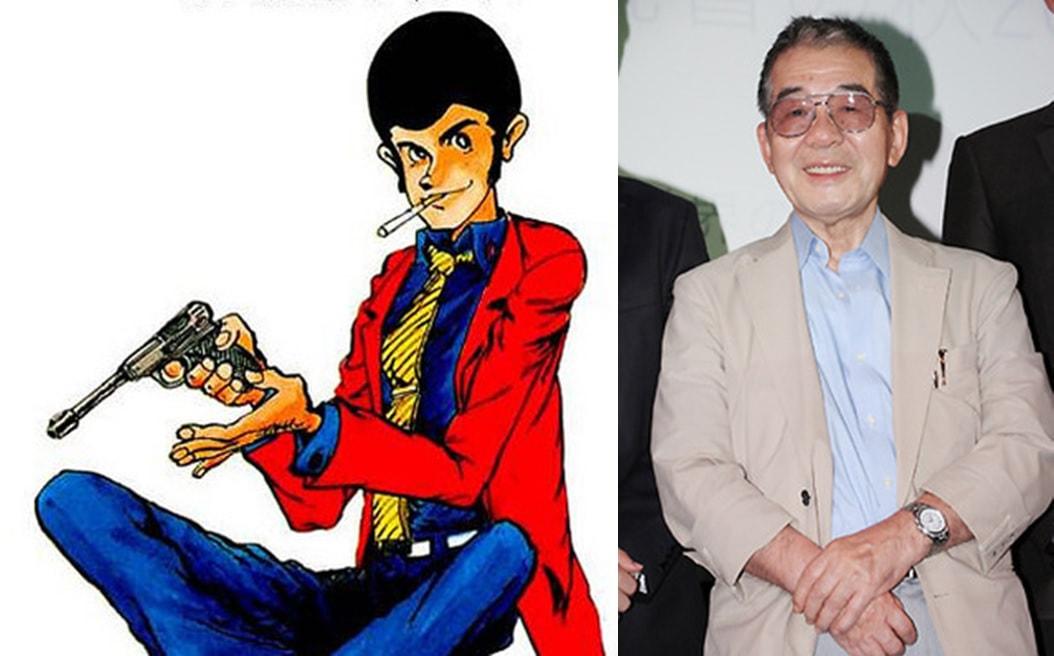 Lupin III with Monkey Punch
