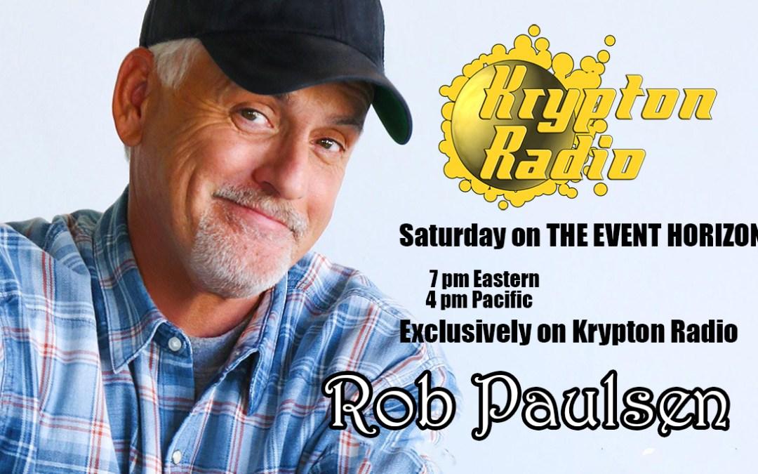 On 'The Event Horizon': Voice Actor Rob Paulsen