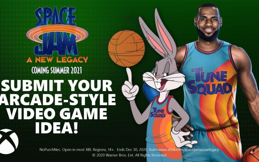 LeBron James, Bugs Bunny, Warner Bros. and Microsoft Want Your Video Game Design Ideas