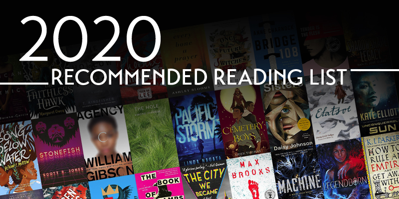 Locus Presents Its Recommended Reading List for 2021