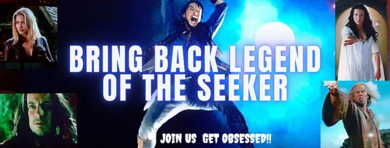 Bring back Legend of the Seeker