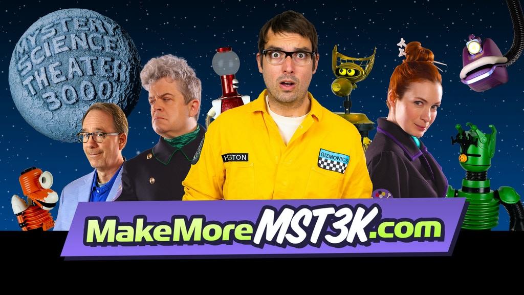 Kickstart This: Let's Make More MST3K & Build the Gizmoplex!