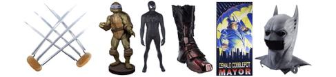 Superhero Props go to auction