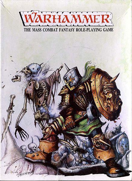 Richard Halliwell, Co-Designer of Warhammer, Passes