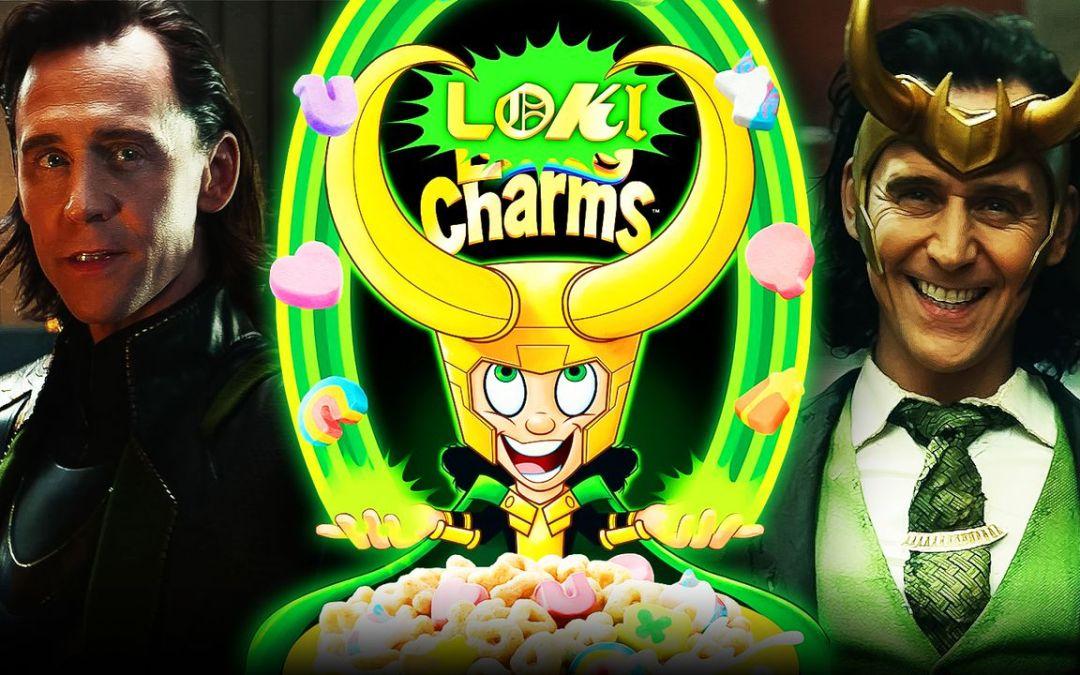 Disney Announces Loki Lucky Charms To Promote Tom Hiddleston Series