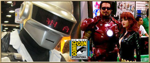 SDCC GUTS: Wearing Spandex in Front of 120,000 People