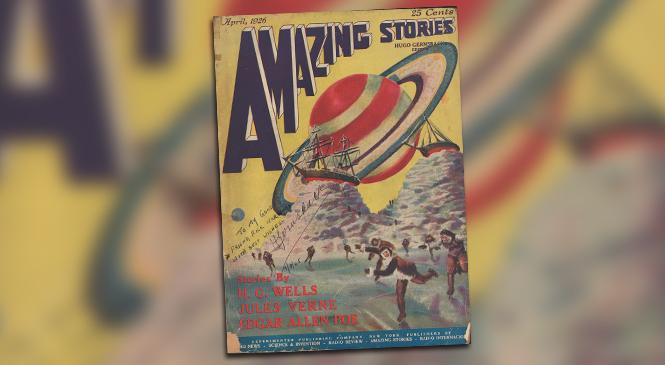 AMAZING STORIES Announces Judges for Writing Contest