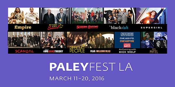 2016 PaleyFest Genre Panels