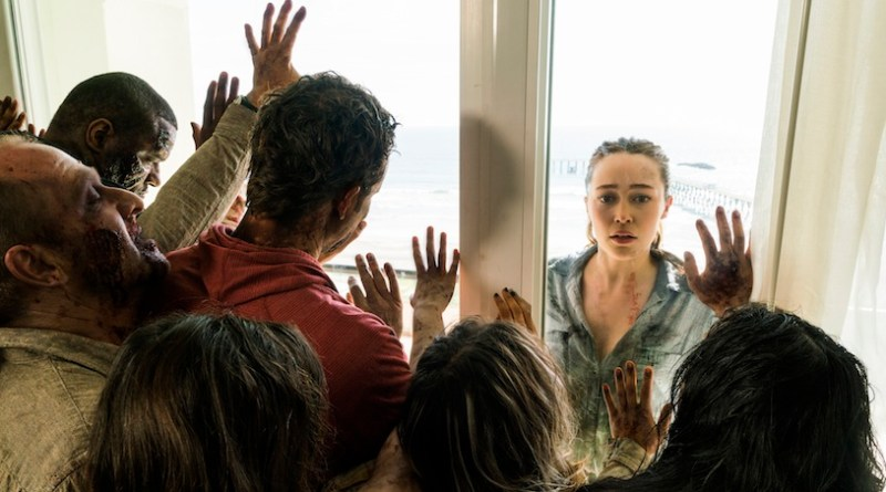 ZOMBPOCALYPSE NOW: FEAR the WALKING DEAD Goes A Little DIE HARD