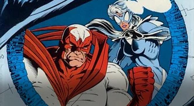 Hawk and Dove Fly to TITANS