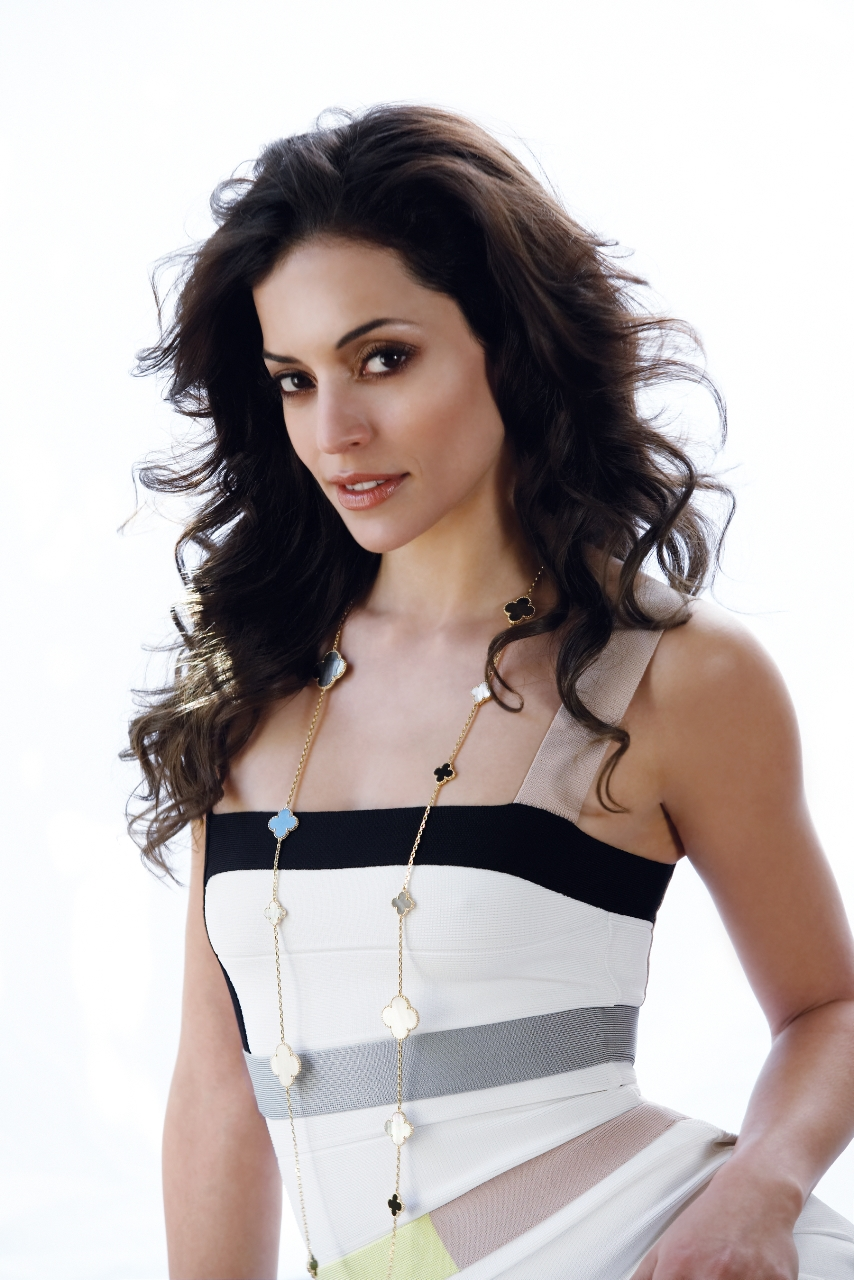 The beautiful and talented Emmanuelle Vaugier - photo courtesy of The Promotion People