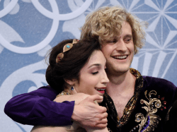 Meryl Davis and Charlie White won the Olympic Gold Medal for ice dancing in Socchi.
