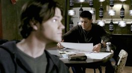 Sam and Dean discuss Ronald Reznick and shapeshifters.