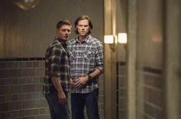 Dean and Sam hear a noise.