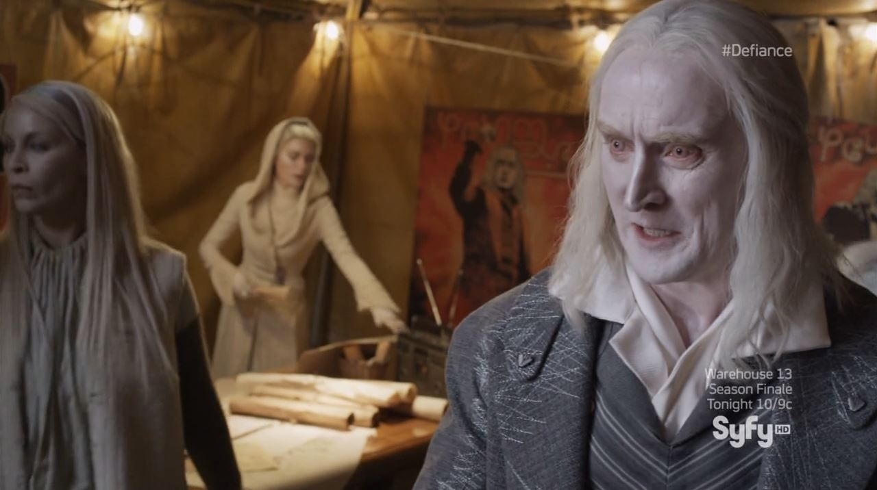 Defiance - Datak (Tony Curran) - wanting his son to shut the fuck up