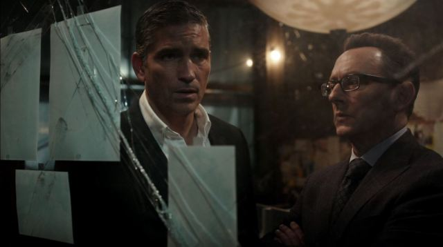 Person of Interest - Jim Caviezel as Mr. Reese and Michael Emerson as Mr. Finch