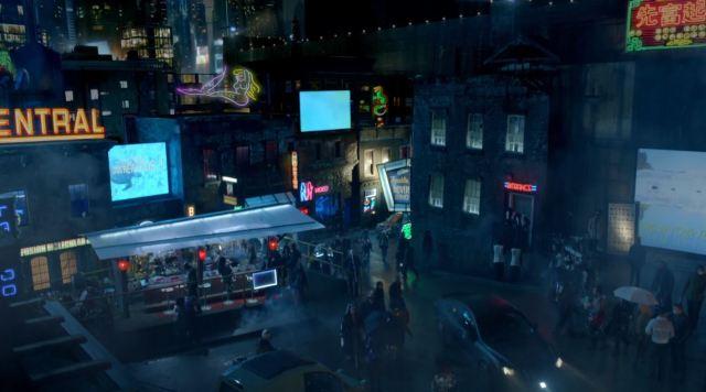 Almost Human - Cyberpunk future