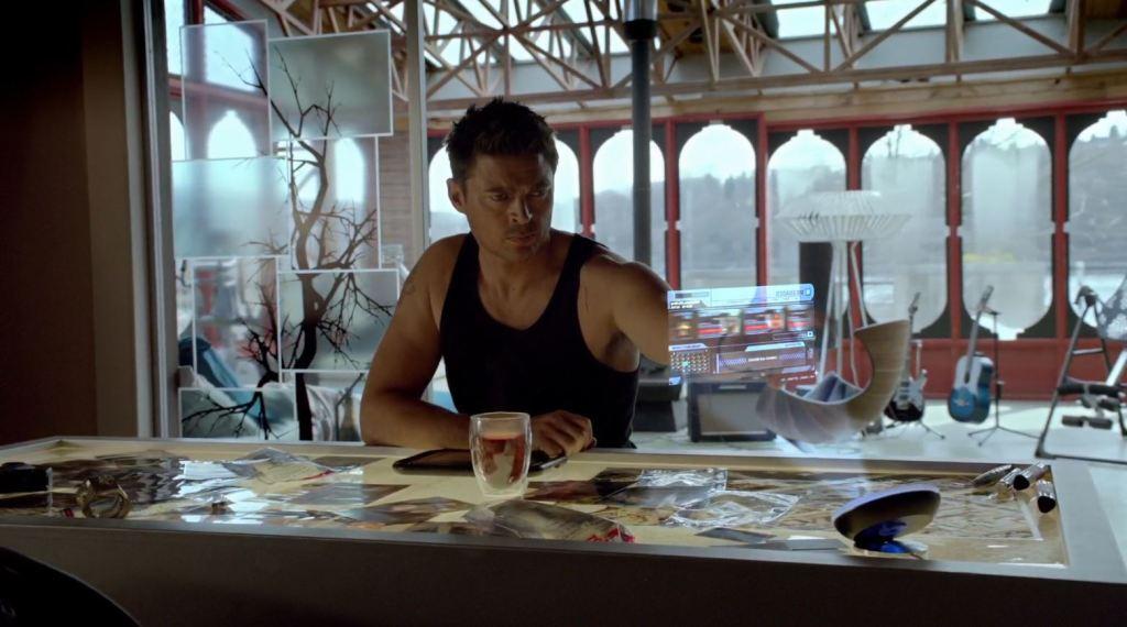 Almost Human - Karl Urban as John Kennex