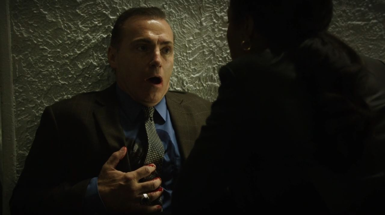Detective Terney dying - Person of Interest