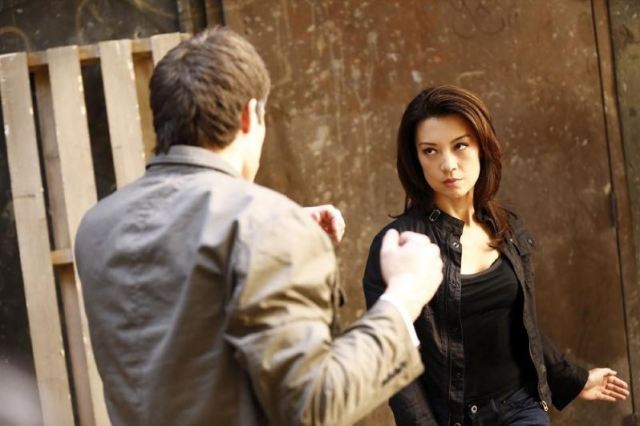 Agents of SHIELD - Seeds - Melinda May fighting