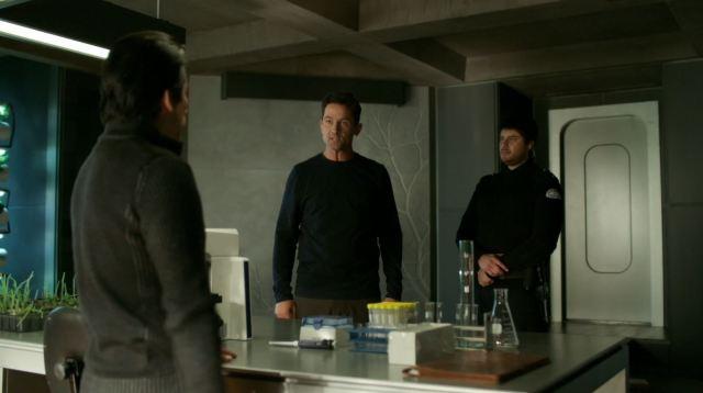 Helix - 274 - Alan confronting Hatake and Aerov