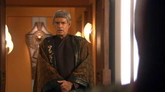 Enterprise season 4 Blu ray review - Gary Graham as ambassador Soval