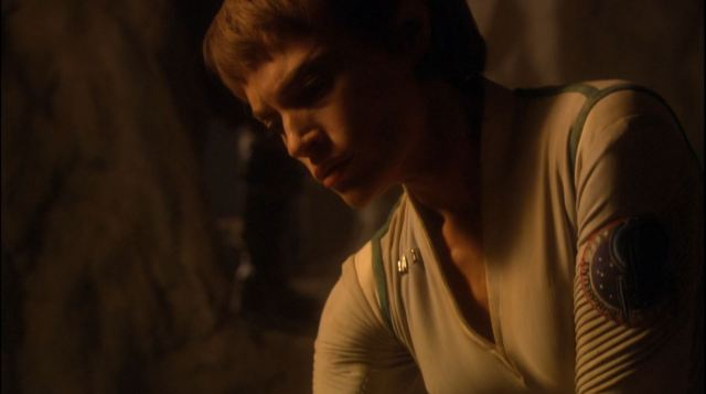 Enterprise season 4 Blu ray review - Jolene Blalock as sub-commander T'Pol on Vulcan