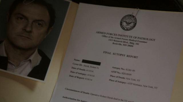 Person of Interest Deus Ex Machina - Hersh autopsy