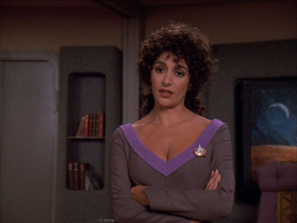 Star Trek The Next Generation Season 6 Blu-ray Review - Rascals - Marina Sirtis as Deanna Troi