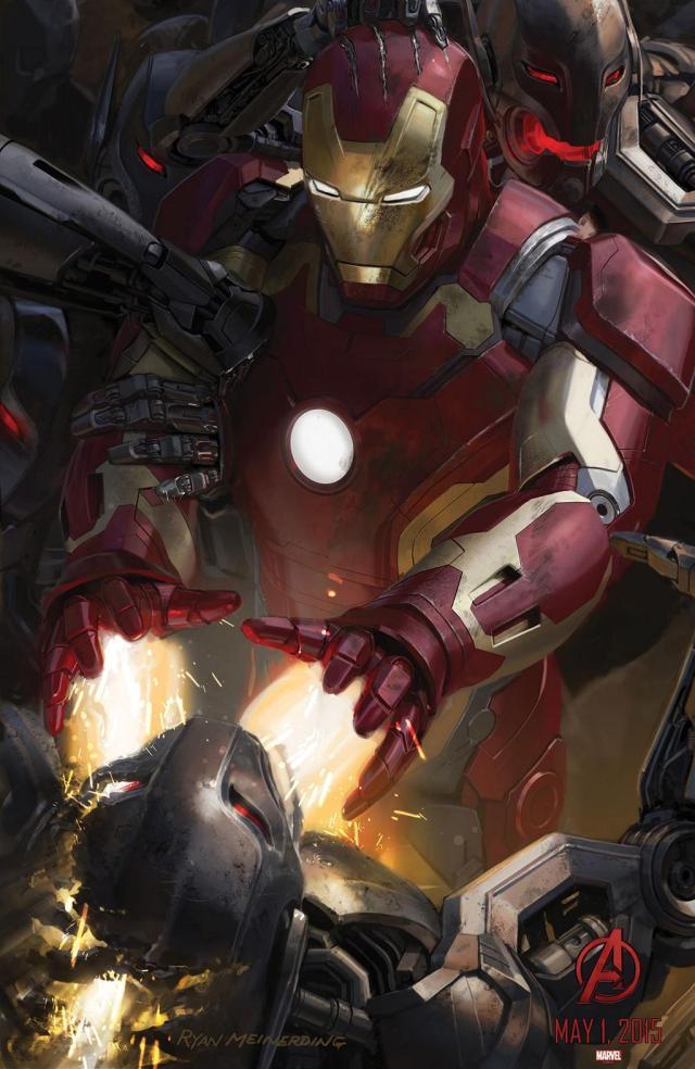 Avengers Age of Ultron Iron Man Robert Downey Jr.  - www.scifiempire.net