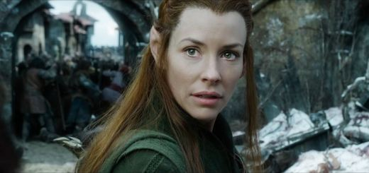 The Hobbit The Battle of the Five Armies Trailer - Evangeline Lilly as Tauriel