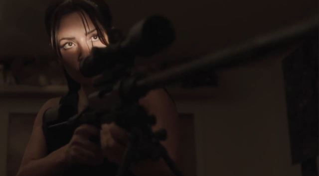 Person of Interest Season 4 Preview - Shaw with a sniper rifle