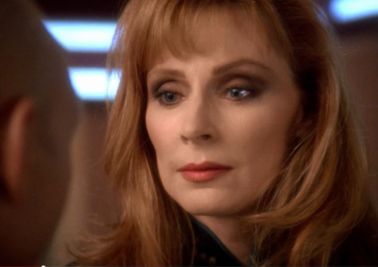 Star Trek TNG Season 7 Blu-Ray Trailer - Gates McFadden as Doctor Crusher