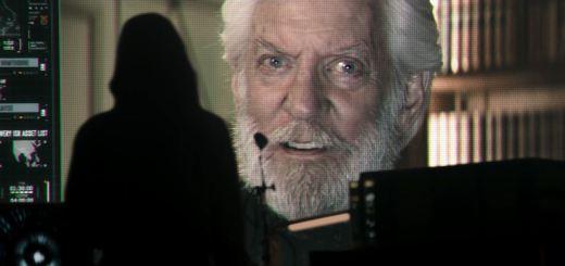The Hunger Games Mockingjay Part 1 Trailer - Donald Sutherland as President Coriolanus Snow